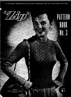 'Zip' Pattern Book No 3 for Knitting Machine