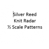 Singer - Silver Reed Knit Radar  1/2 Scale Patterns