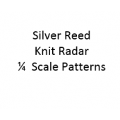 Singer - Silver Reed Knit Radar  1/4 Scale Patterns