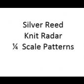 Singer - Silver Reed Knit Radar  1/4 Scale Patterns