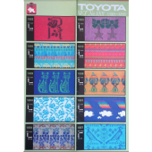 Toyota Punchcards Set 1001