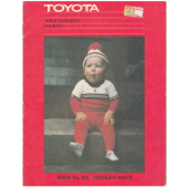 Toyota - Your Fashion Factory BOOK 103 Toddler Knits
