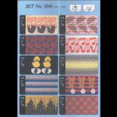 Toyota Punchcards Set 1041