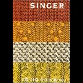 Singer 600 1110 1310 2310 Knitting Machine Instruction