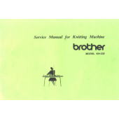 Brother KH230 Service Manual