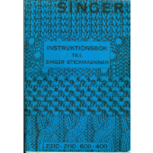 Singer 2110 - 2310 - 600 - 400 - Swedish