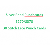 Silver Reed-Singer FK27/370 Lace Punchcards