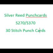 Silver Reed-Singer FK27/370 Standard Punchcards