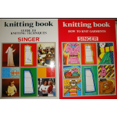 Singer Knitting Book - 2 volumes