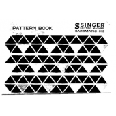 Pattern Book For Studio-Singer CARDMATIC 312-313