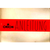 Orion 360 Instruction Manual German