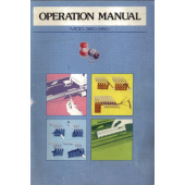 Silver Reed 360-260 Operation Knitting Machine Manual