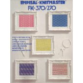 Empisal Knitmaster FK-370-270 Pattern Book