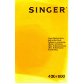 Singer MEMO II 400 600 Knitting Machine Instruction Manual