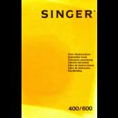 Singer MEMO II 400 600 Knitting Machine Instruction Manual