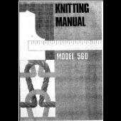 Knitmaster 560 Knitting Machine Instruction Manual