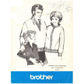 Brother 5 Ply Jumpers and Cardigans Set In Sleeves