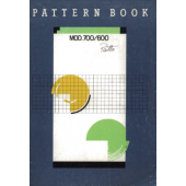 Knitmaster 600-700 Pattern Manual