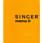 SINGER 600 MEMO II Pattern Book and Instruction Manual