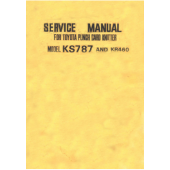 Toyota KS787 KR460 Service Manual