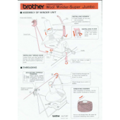 Brother KA-7197 Super Jumbo Bobbin Winder User Manual
