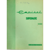 Brother Empisal Supermatic KH880 User Guide
