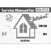 Brother KH910 Service Manual
