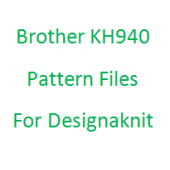 Brother KH940 Pattern Files for Designaknit
