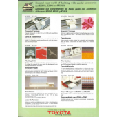 Toyota Accessories Sales Brochore