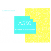 AG50 Intarsia Carriage User Manual