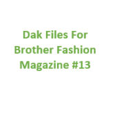 Brother Fashion Magazine 13 Files for Designaknit