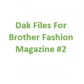 Brother Fashion Magazine 02 Files for Designaknit