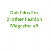 Brother Fashion Magazine 03 Files for Designaknit