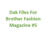 Brother Fashion Magazine 05 Files for Designaknit