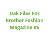 Brother Fashion Magazine 06 Files for Designaknit
