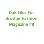 Brother Fashion Magazine 08 Files for Designaknit