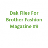 Brother Fashion Magazine 09 Files for Designaknit