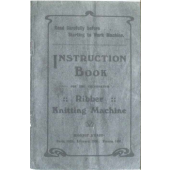 Beehive Ribber Knitting Machine Instruction Manual