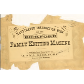 Bickford Knitting Machine Instruction Manual