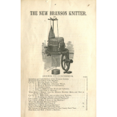 Branson The New Branson Knitter Knitting Machine Instruction Manual