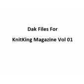 KnitKing Vol 01 Files for Designaknit