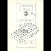 Superba Digiform Instruction Manual