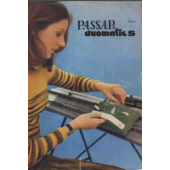 Passap Duomatic S User Manual