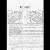 Tricot De-Knit User Guide