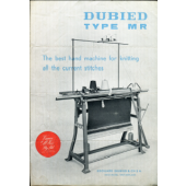 Dubied  Type MR Flyer Instructions and Parts List