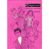 Empisal Instant Knitter Knitting Machine Instruction Manual