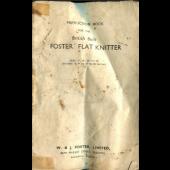 Foster Flat Knitter Instruction Manual