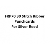 Silver Reed-Singer  FRP70 30 Stitch Ribber Punchcards