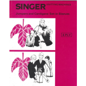 Singer 4 Ply Jumpers and Cardigans Set In Sleeves