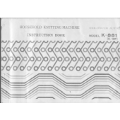 Juki K881 Knitting Machine Manual